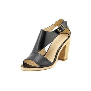 Fiel Erie Women  Open Toe Synthetic Black Sandals