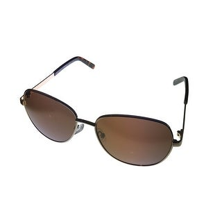 Kenneth Cole Reaction Mens Sunglass KC1295 32G Gold Aviator, Flash Lens - Medium