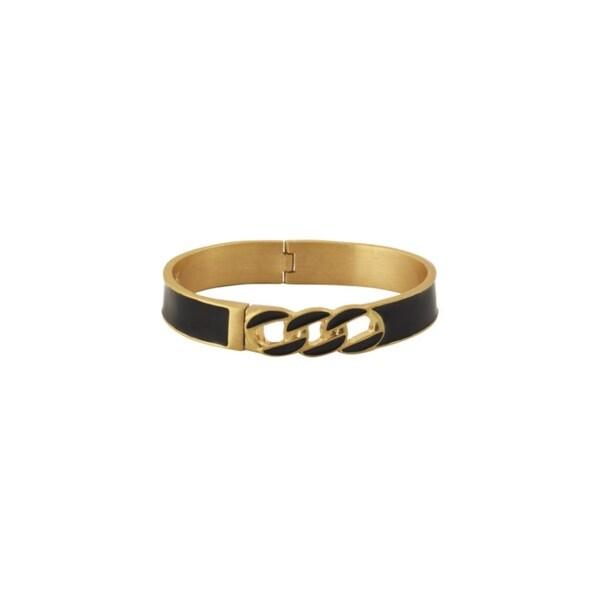 Karen Kane Womens Secret Garden Bangle Bracelet Hinged Cuff