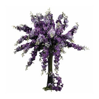 """Nearly Natural 38.5"""" Delphinium Stem - Set of 12"""