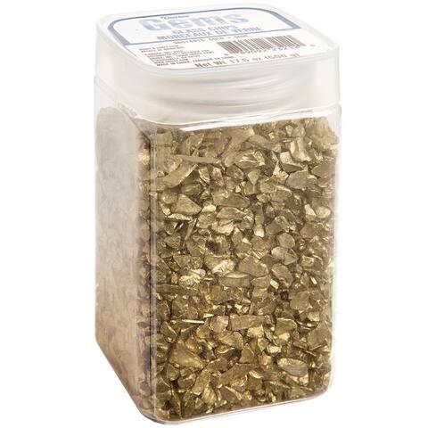 Crushed Glass Vase Filler 500Gr-Gold