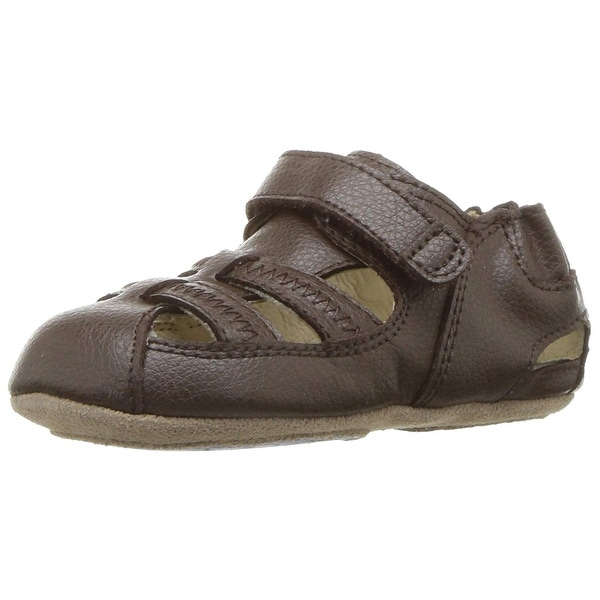 Kids Robeez Boys Rugged Rob Low Top Slip On Walking Shoes. Opens flyout.