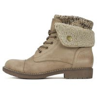 Cliffs by White Mountain Womens Duena Closed Toe Ankle Cold Weather Boots