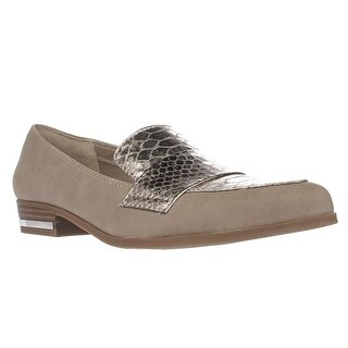 B35 Involve Pointed Toe Cross Strap Loafers, Portico