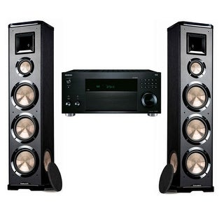 Bic Acoustech PL-980 Pair With Onkyo TX-RZ820 7.2 Channel Network A/V Receiver