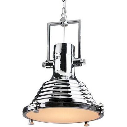 Chrome Vintage Industrial Metal Pendant Lamp Light
