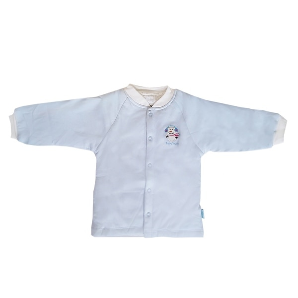 Bamboo Cotton newborn Infant baby Bodysuits climbing clothes Top Blue