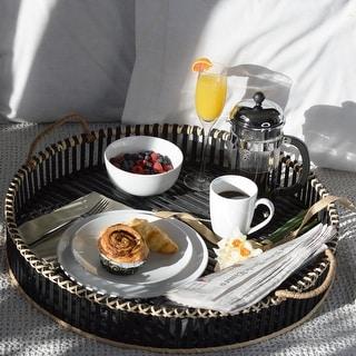 Link to Euro Ceramica White Essential 16 Piece Porcelain Dinnerware Set Similar Items in Flatware
