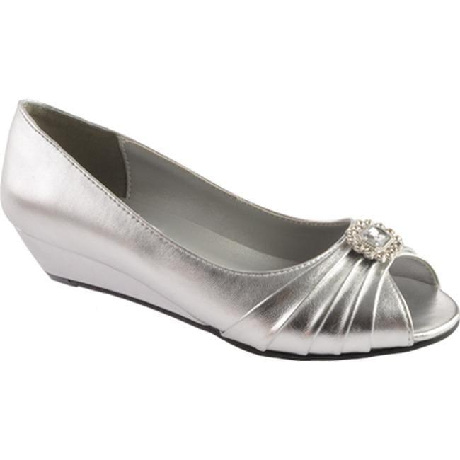 8ffc896a15a Dyeables Women's Anette Silver Metallic
