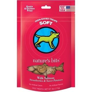 Nature's Bits Dog Treats 6Oz-Salmon Soft