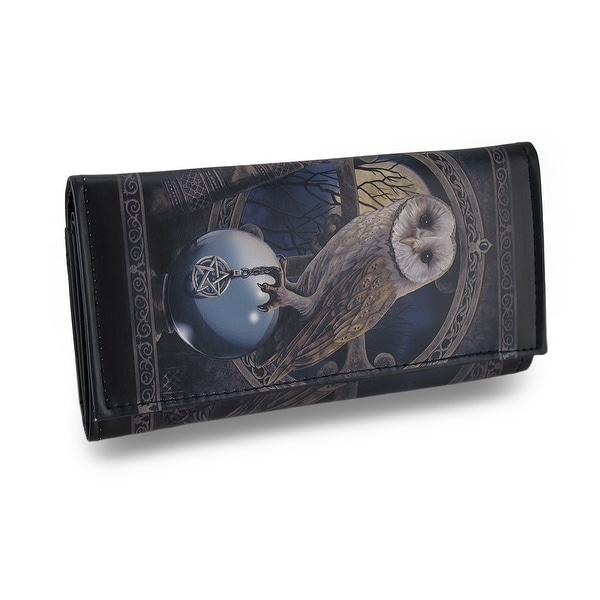 Spell Keeper Faux Leather Gothic Fantasy Wallet Lisa Parker Artwork