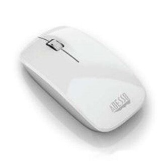 Adesso Inc. Imouse M300w Optical Scrolling Mouse White
