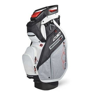New 2020 Sun Mountain C 130 Cart Bag Black Charcoal White Red Black Charcoal White Red