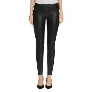 MICHAEL Michael Kors Womens Leggings Faux Leather Skinny