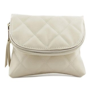 Urban Expressions Lizette Synthetic Messenger - ivory