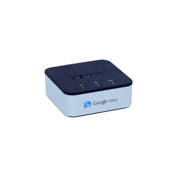 Obihai Technology OBI200 Obihai OBi200 VoIP Telephone Adapter with 1-Phone Port & USB - 1 x RJ-45 - 1 x FXS - USB - Management