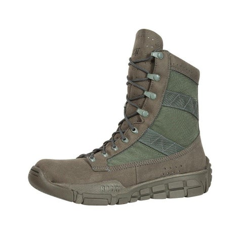 "Rocky Tactical Boot Men 8"" C4T Trainer Duty Light Sage Green"