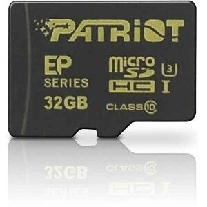 Patriot Memory PEF32GEMCSHC10 Patriot Memory 32 GB microSDHC - Class 10/UHS-I - 90 MB/s Read - 45 MB/s Write - 1 Card
