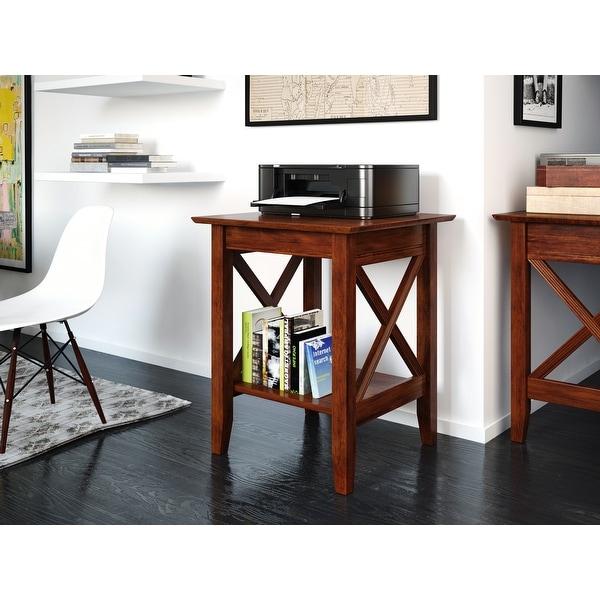 Atlantic Furniture Lexi Walnut Wood Printer Stand. Opens flyout.
