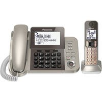 Panasonic Kx-Tgf350N Dect 6.0 Corded/Cordless Phone System With Caller Id & Answering System (1 Handset)