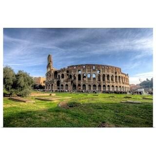 """Colosseum, Rome"" Poster Print"