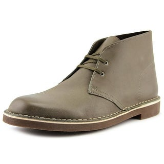 Clarks Bushacre 2   Round Toe Leather  Chukka Boot