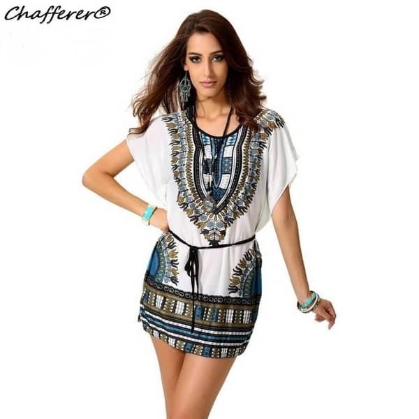 Shop Chafferer Summer Boho Women Beach Dress 2017 Plus Size ...