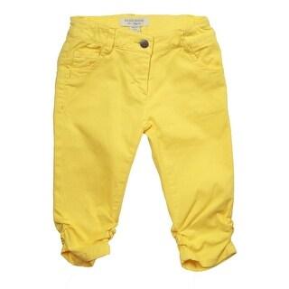 Richie House Little Girls Yellow Classic Capris 2