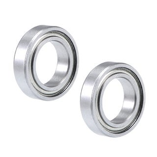 "R1038ZZ Deep Groove Ball Bearing 3/8""x5/8""x5/32"" Shielded Chrome Bearings 2pcs - 2 Pack - R1038ZZ (3/8""x5/8""x5/32"")"