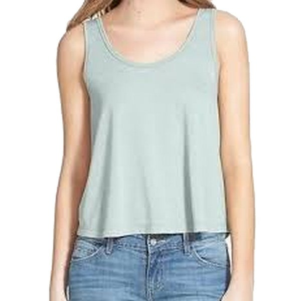 b609ad409bf32c NEW Raindrop Blue Size Medium M Junior Stretch Scoop-Neck Tank Top 122 - On  Sale - Free Shipping On Orders Over  45 - Overstock - 17619906