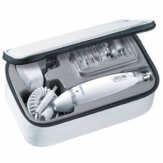 Beurer MP62 Manicure & Pedicure Kit w/ Powerful Nail Drill and 10 Attachment System - generic|https://ak1.ostkcdn.com/images/products/is/images/direct/970e42ce47b50252f9eed3cf0ce764e26e16e53c/Beurer-Mp62-Manicure-%26-Pedicure-Kit-W--Powerful-Nail-Drill-And-10-Attachment-System.jpg?impolicy=medium