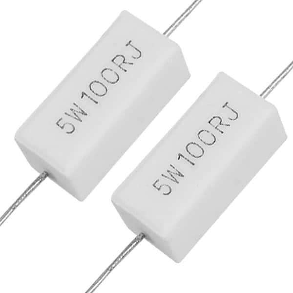 159A 10pcs 5W 390 ohm Ceramic Cement Power Resistor