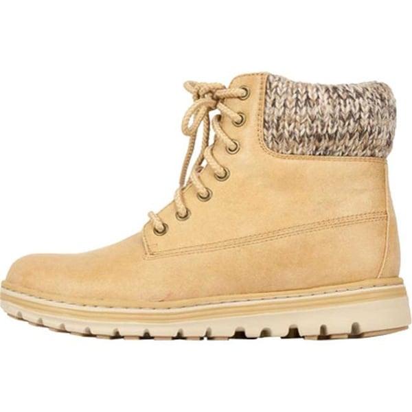 Kudrow Cuffed Ankle Boot Wheat Fabric