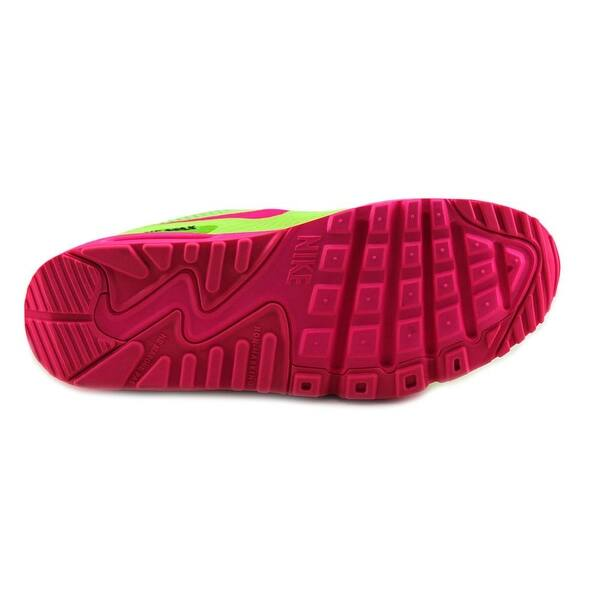 75ac24077 Shop Nike Air Max 90 (GS) Round Toe Synthetic Running Shoe - Free ...