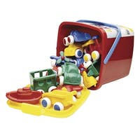 International Playthings Chubbies Vehicle Bucket Set
