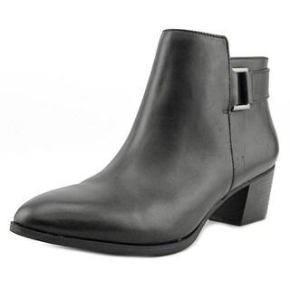 Alfani Adisonn Round Toe Leather Ankle Boot