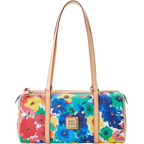 Dooney & Bourke Watercolor Barrel Bag