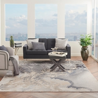 Link to Nourison Maxell Modern Abstract Area Rug Similar Items in Rugs