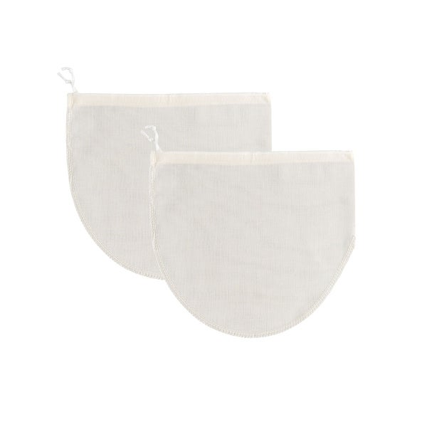 Mrs Anderson's Reusable 100% Cotton Jelly Strainer Bags - 2 pack - White. Opens flyout.