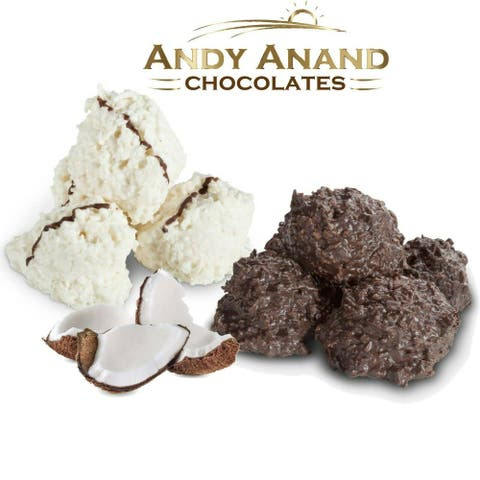 Andy Anand Sugar Free Belgian Chocolate Coconut Haystack Bridge