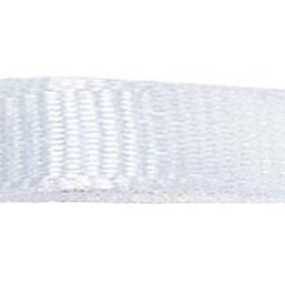 "White - Grosgrain Ribbon 3/8""X18'"