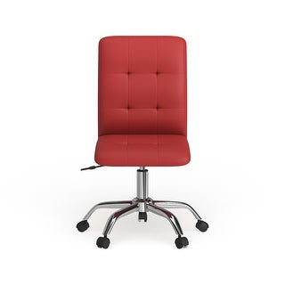 Link to Porch & Den Winton Mid Back Office Chair Similar Items in Home Office Furniture