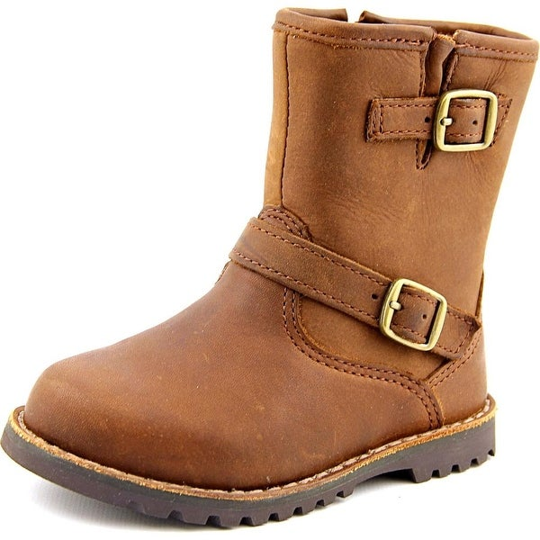 Ugg Australia Harwell Round Toe Leather Winter Boot