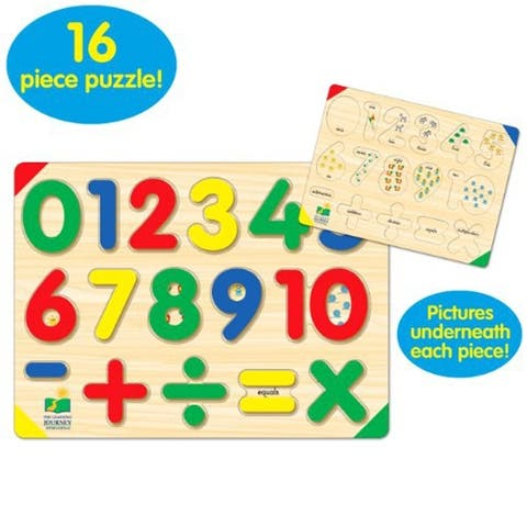 The Learning Journey Lift & Learn 123 Number Puzzle - multi