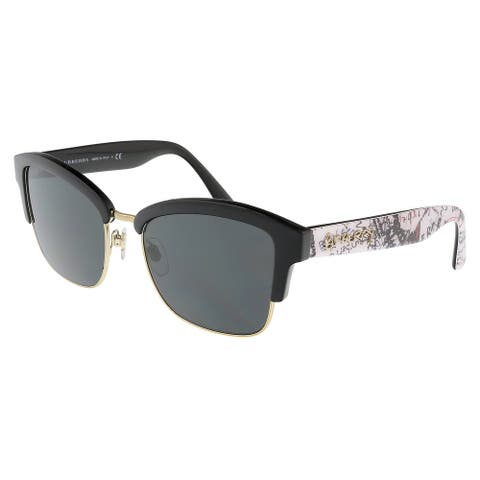 Burberry BE4265 372387 Black Graffiti Sunglasses - 55-17-140