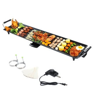 Link to Electric Teppanyaki Table Top Grill Griddle BBQ Barbecue Nonstick Similar Items in Cookware