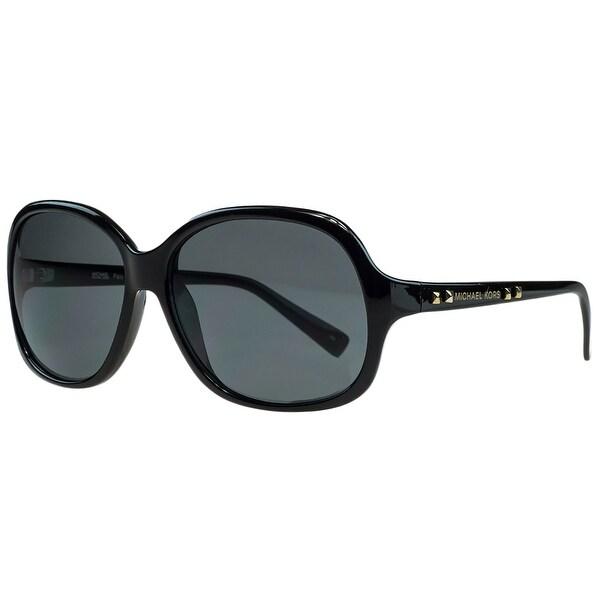 Michael Kors M2743/S PALO ALTO 001 Black Square Sunglasses - 59-14-135