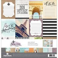 """France - Paper House Paper Crafting Kit 12""""X12"""""""