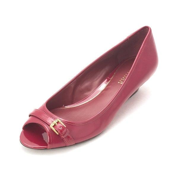 LAUREN by Ralph Lauren Womens Madison Open Toe Formal Platform Sandals
