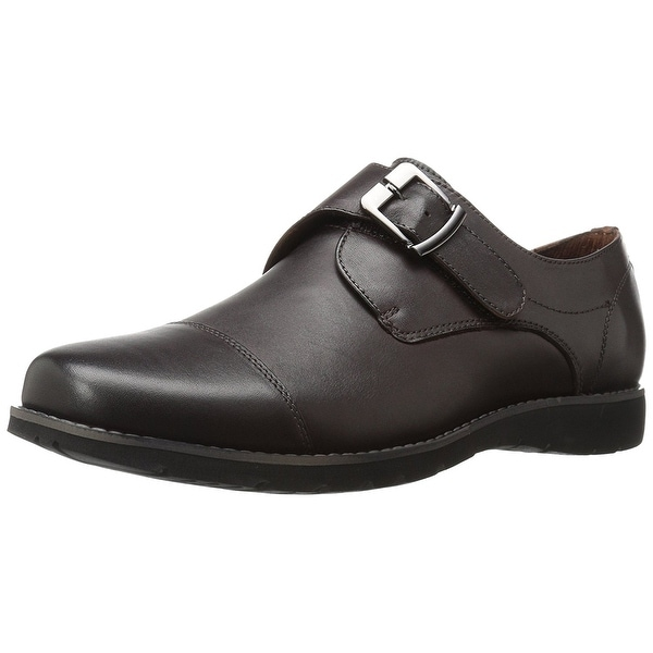 Propét Mens Graham Leather Buckle Dress Oxfords